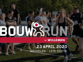 Bouwrun 2020 - 23 april - Mechelen
